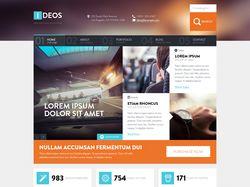 Дизайн сайта Ideos