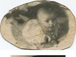 Детский портрет - реставрация