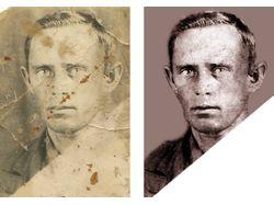 Одиночный портрет - реставрация
