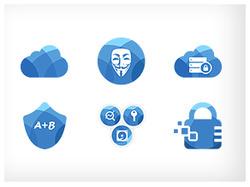 Набор иконок для CryptoСloud