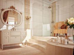 Коттедж 180м2. Ванная комната