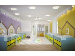 Дизайн-проект частного детского сада