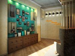 Дизайн-концепция интерьера кафе в г.Тюмень 70 кв.м