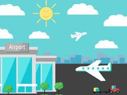 инфографика туризм Airport