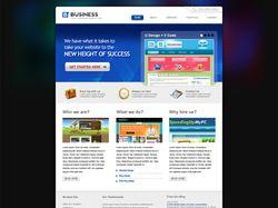 Верстка сайта Bussines