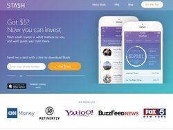 """Full Stack + SMS шлюз """"stash invest"""""""