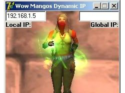 WOW Mangos Dynamic IP
