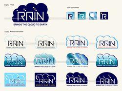 """Лого, иконки """"Rain"""""""
