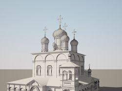 Соборный храм Сретенского монастыря в Москве