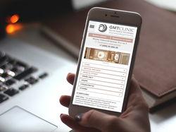 GMT Clinic / мобильная адаптация сайта
