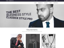 Магазин одежды/набросок страницы