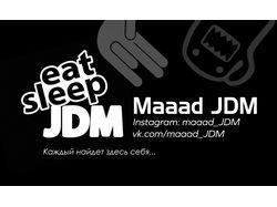 Визитка Maaad JDM