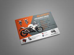 Буклет для дилера мототехники