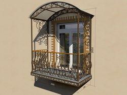 Навороченный балкон