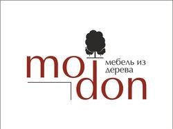 """Логотип мебельной компании """"Modon"""""""