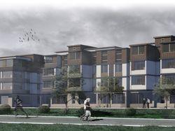 Проекты зданий ArhiCAD, CINEMA 4D, Revit, Ps.