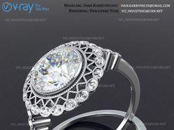 Моделирование и визуализация ювелирного кольца