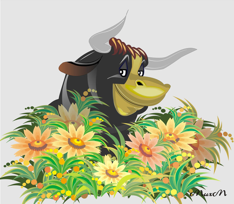 Поздравление женщине в год быка