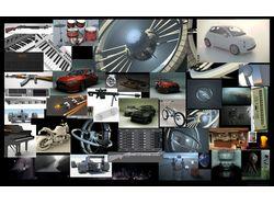 3D моделлирование, анимация, рендеринг.