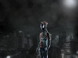 Spider-man (comic style)