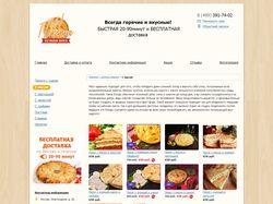 Наполнение сайта осетинских пирогов