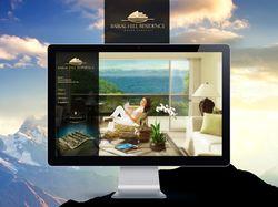 Дизайн сайта элитного жилого комплекса