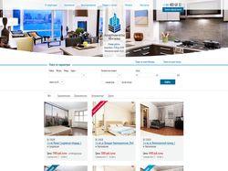 Лендинг для аренды квартиры