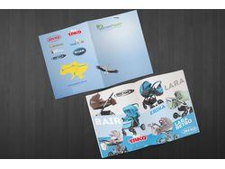 Буклет для поставщика детских товаров
