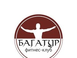 "Логотип фитнес-клуба ""Багатур"""