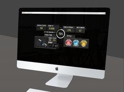 Уникальный дизайн и верстка сайта игры