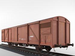 Train Boxcar