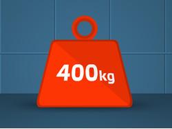 400kg   Flash