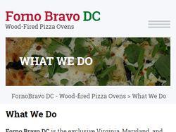 Wordpress шаблон для Forno Bravo