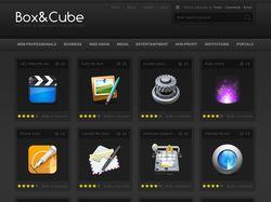"Вёрстка сайта ""Box&Cube"""