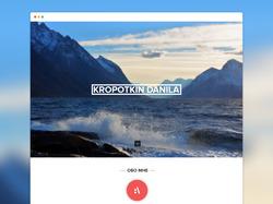 Landing Page для Kropotkin.su