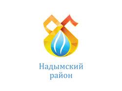 Логотип к 85-летию Надымского района, ЯНАО