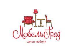 Логотип магазина «МебельГрад», г. Ноябрьск