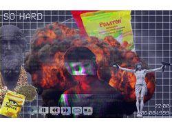 Обработка фотографии в популярном стиле webpunk.