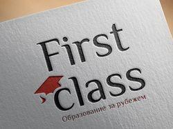 Логотип First class