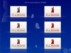 Логотип салона красоты Florisse