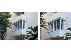 Обработка фотографий балконов