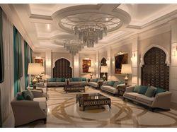 Дизайн интрьера гостевого дома в Дубай