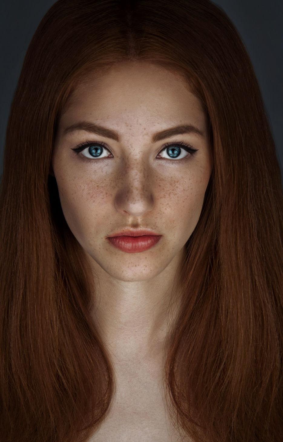 Портреты девушек фото без обработки