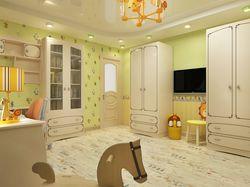 Визуализация детской комнаты по ТЗ