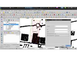 Модуль к QGIS для работы с кадастровыми данными