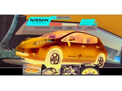Сайт nissan-elektro.com.ua