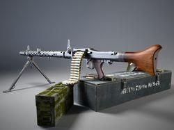 Пулемет MG-34 (нем. Maschinengewehr 34)
