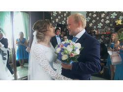 Свадебный клип под нестандартную музыку