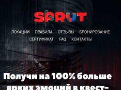 """Адаптивная верстка и программирование """"SPRUT"""""""