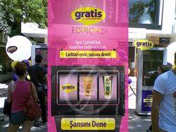 Gratis Interactive Kiosk